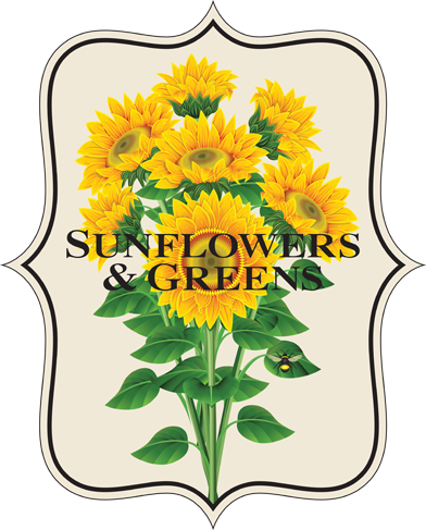 Sunflowers and Greens - Logo